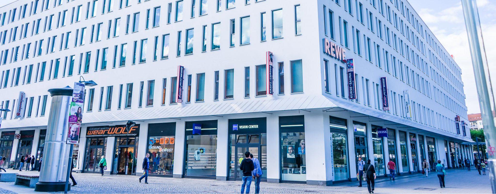 Header: Bürgerhaus am Wall Chemnitz